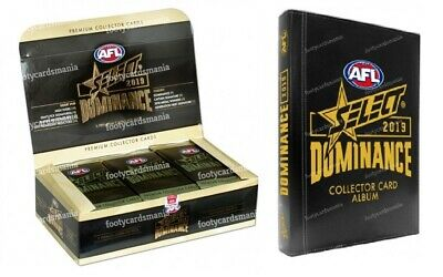 2019 AFL SELECT Series 2 Dominance Unsearched Factory Sealed Box + Album NEW