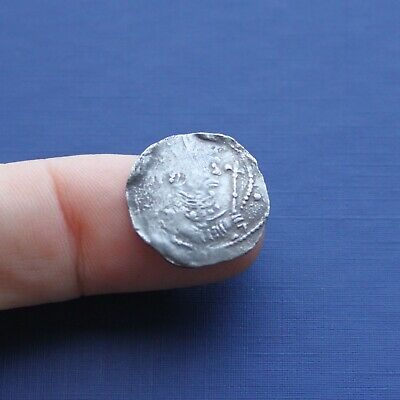 Hammered Silver Norman Coin Stephen Penny c 1135 AD