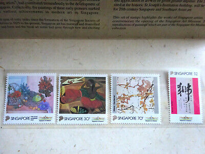 Singapore 1995 Local Artists (2nd series) set Presentation Pack - MNH