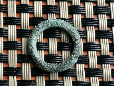 Ancient Celtic Bronze Proto Ring Money Circa 500 Bc Very Rare And Scarce