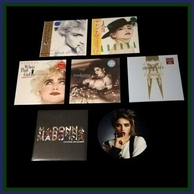 Madonna Rsd 2019 Immaculate Collection Like A Virgin Who's That Girl Calendar