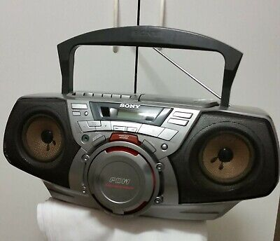 "Sony  Cfd G30L ""Boombox/Ghetto Blaster"" Radio/Cassette-Corder /Cd Player"