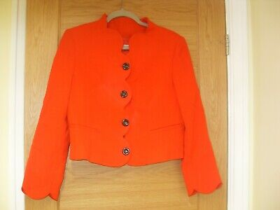 red valentino red suit smart jacket size 46