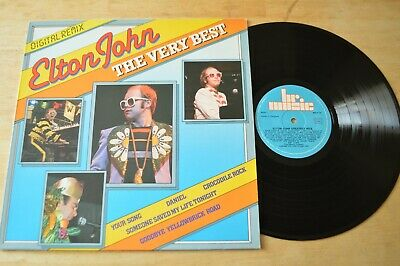 Elton John ‎– The Very Best Vinyl Record LP BRLP14 Rocket Man Crocodile Rock