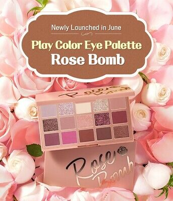 ETUDE HOUSE - PLAY COLOR EYE PALETTE ROSE BOMB ( eyeshadow - KOREA )