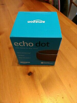 Amazon Echo Dot 3rd Generation. Brand new in box with intact packaging.