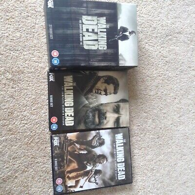 The Walking Dead Season 1-8 as new only watched once all excellent condition
