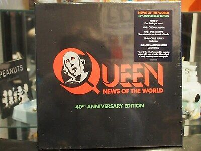 Queen - News Of The World 40th Anniversary Edtition -Neu & OVP