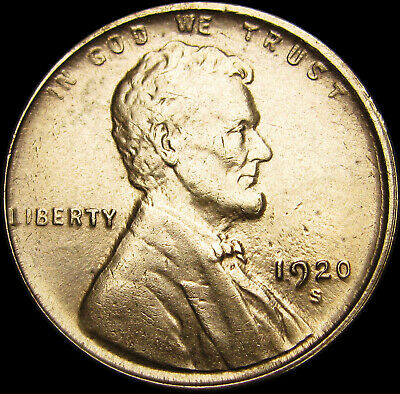 1920-S Lincoln Cent Wheat Penny ----  GEM BU+  ---- #S226