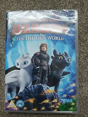 How to Train Your Dragon - The Hidden World [DVD] new.and sealed genuine UK DVD