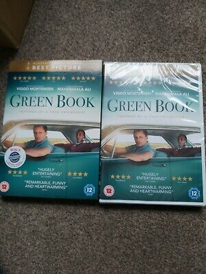 Green Book DVD new.and sealed genuine UK DVD