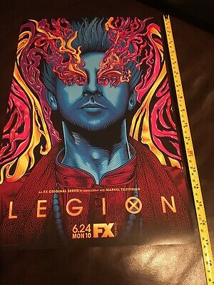 """FX MARVEL LEGION Season 3 POSTER 11"""" X 17"""" Authentic Double Sided"""