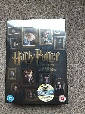 HARRY POTTER COMPLETE 8-FILM COLLECTION 2016 (16-DISC DVD SET) new and sealed