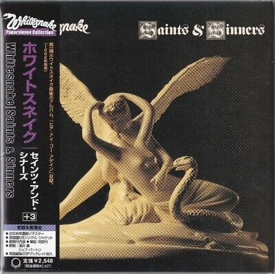 Whitesnake: Saints & Sinners (Very Rare Japan Mini-Lp Cd)