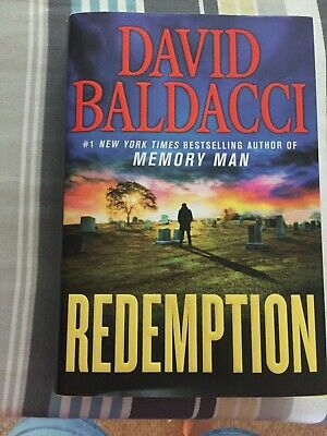 Redemption by David Baldacci (2019, Hardcover) Memory Man Series