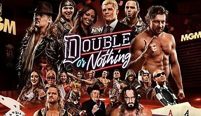 AEW Double Or Nothing DVD - All Elite Wrestling - wwe wcw tna