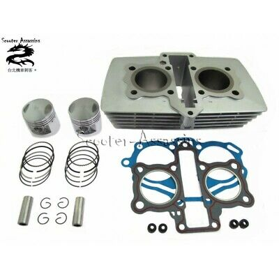 150cc BIG BORE TWIN CYLINDER KIT for 244FMI AJS dd125e.JINLUN Sinnis 125