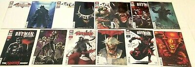 The Batman Who Laughs #1 2 3 4 5 6 A & B Variants +Grim Knight #1 Snyder Metal