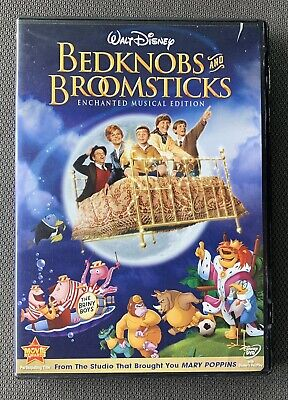 Disney's Bedknobs And Broomsticks - Enchanted Musical Edition DVD. Like New.