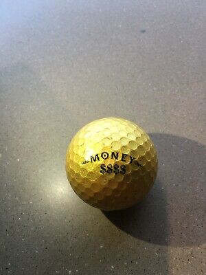 5151e555ac (1) SLAZENGER MONEY GOLD GOLF BALLS IN Good To Great Condition