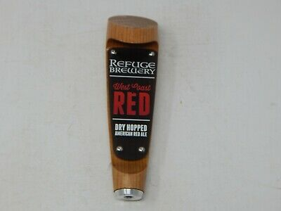 Beer Tap Handle Refuge Brewery West Coast Red R20269