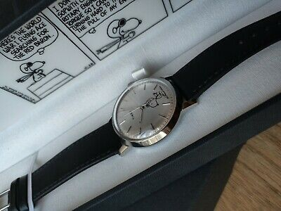 d0af01a88 New Timex Marlin Automatic X Peanuts Featuring Snoopy 40mm Leather Strap  Watch