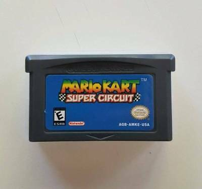 Mario Kart Super Circuit Gameboy GBA/SP/DS Game