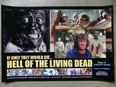Night of the Zombies Poster Bruno Mattei Hell of the Living Dead Margie Newton
