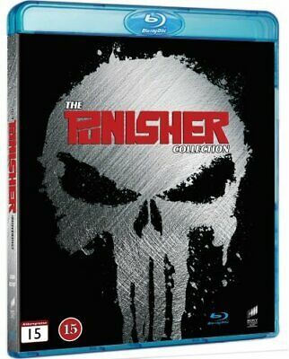 The Punisher Collection (Region Free) Blu Ray - DVD  JEVG The Cheap Fast Free