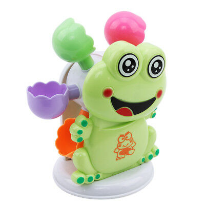 Crab Frog Bubble Maker Machine Shower Musical Bath Baby Toy Child Funny Gift  JO
