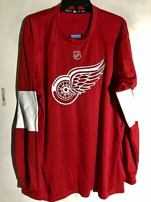 ADIDAS DETROIT RED WINGS NHL jersey sweat à capuche rouge