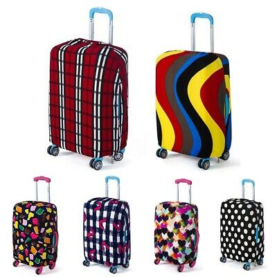 New Colorful Travel Washable Luggage Cover Elastic Durable Suitcase