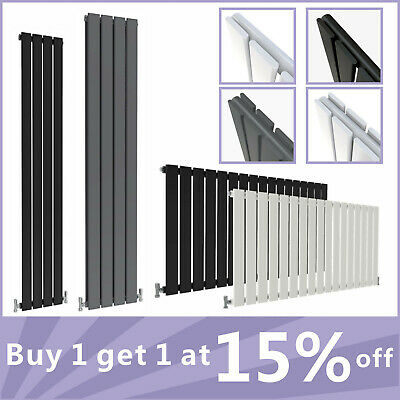 Horizontal Vertical Designer Flat Panel Radiator Best Price Rads All Colours