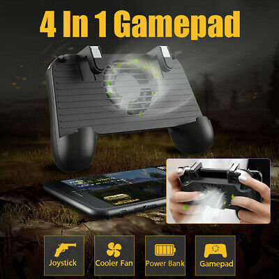 ❤ Mobile Phone Game Controller Joystick Cooling Fan Gamepad for PUBG Android IOS