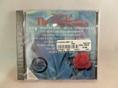THE BEST OF THE STYLISTICS Music CD New Sealed Amherst Records