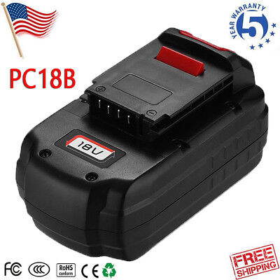 18-Volt NiCd Battery FOR PORTER-CABLE PC8B  PCC489N PC188 PC18SS PCMVC Cordless