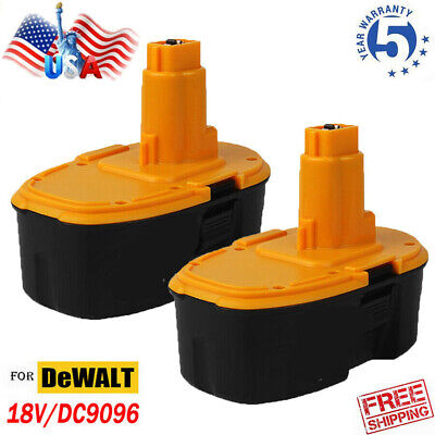 For Dewalt 18V 18Volt XRP Battery DC9096 DC9098 DC9099 DW9095 DW9096 Cordless 1x