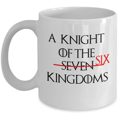 Game of Thrones House Stark funny coffee mug gift - A knight of the six kingdoms