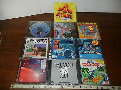 PC Computer video Game Lot of 10 total kids Disney software learning action NEW!