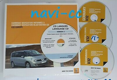 Renault Carminat Navigation Informee 2 // Bluetooth CD (4R/LPN) - V32 FINAL VER