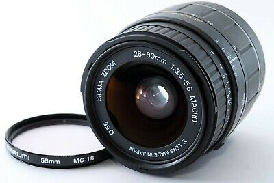 For PartsSigma AF 28-80mm f/3.5-5.6 Macro Zoom Lens for Canon EF EOS A1252