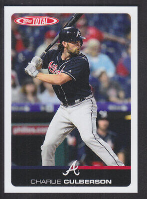 Topps Total 2019 - # 89 Charlie Culberson - Atlanta Braves
