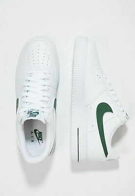 Nike Air Force 1 07 Mens Green Black shoes Trainer UK Size 6