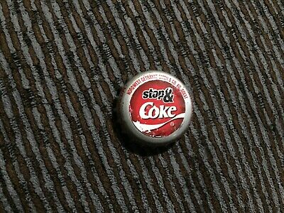 RARE Coca Cola soda Bottle Cap from Germany PROTOTYPE Stop n Shop