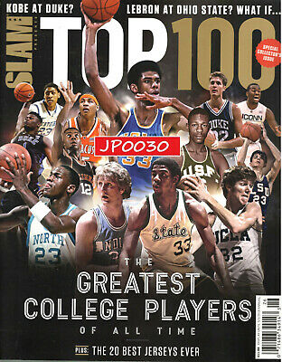 Slam Presents 2019, Top 100 Greatest College Players Of All Time, New/Sealed
