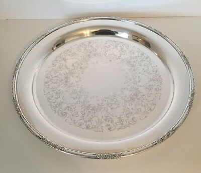 "International Silver Co. Camille Servering Tray 15"" #6072"