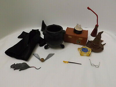 Harry Potter Doll Accessories Trunk Sorting Hat Snitch & More