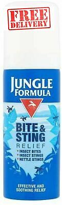 Jungle Formula Insect Bite and Sting Relief Skin Spray Itch Pain Aid 50ml 3+ yrs