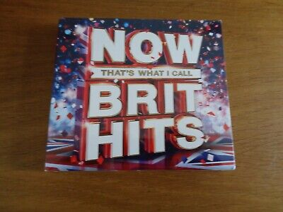 Various Artists / Now Thats What I Call Brit Hits **NEW** CD album,free p+p