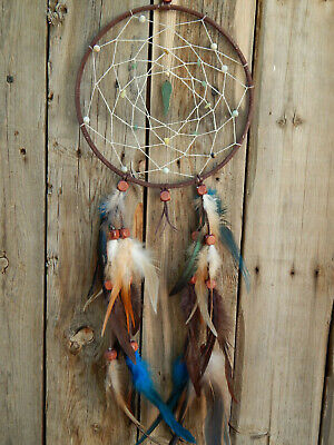 Dream Catcher Hand Made With Angel Wings And Gems